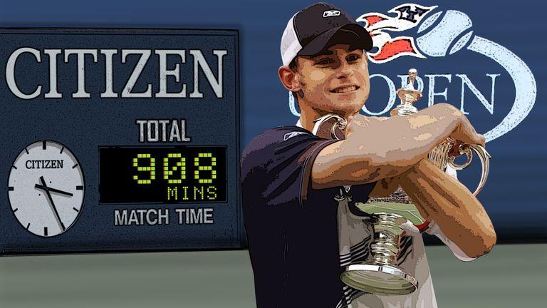 Andy Roddick: The 2003 champion