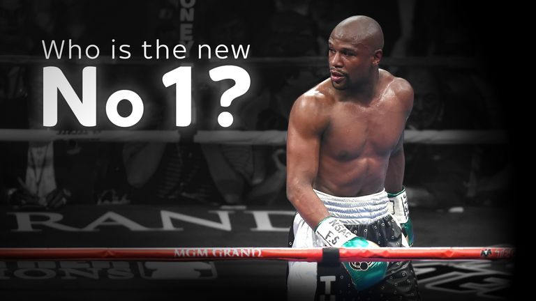 Who steps up now Floyd Mayweather has retired?