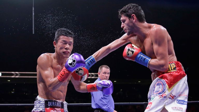 McDonnell returned to America to inflict another defeat on Kameda