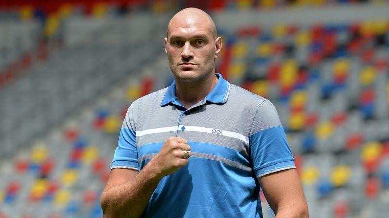 Tyson Fury says he'll beat Wladimir Klitschko twice