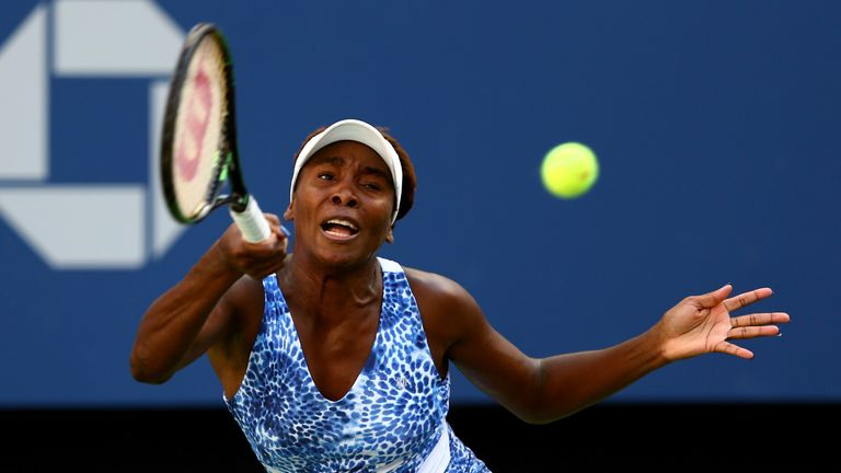 Venus Williams wasted little time in reaching the quarter finals
