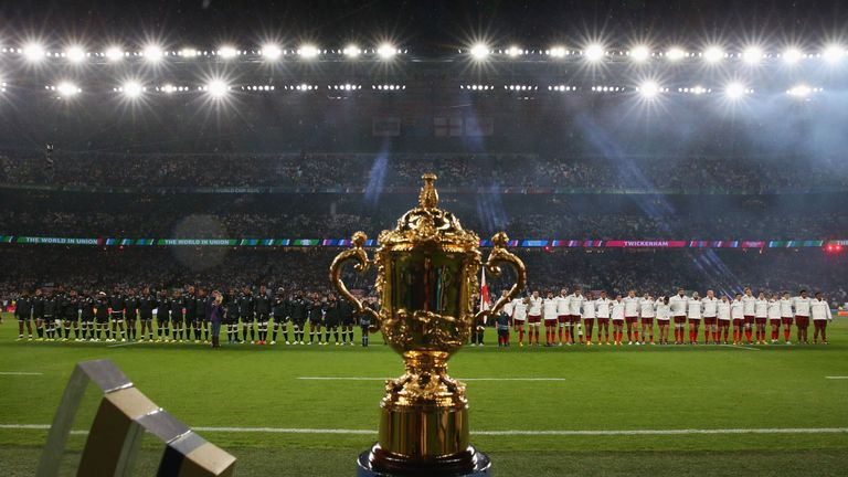 England and Fiji open Rugby World Cup to the tune of God Save The Queen