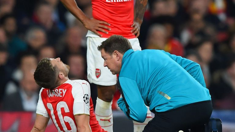Ramsey has also struggled with injuries this season