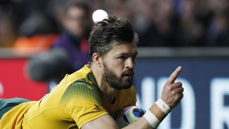 He has scored tries at the 2007, 2011 and 2015 Rugby World Cups for Australia