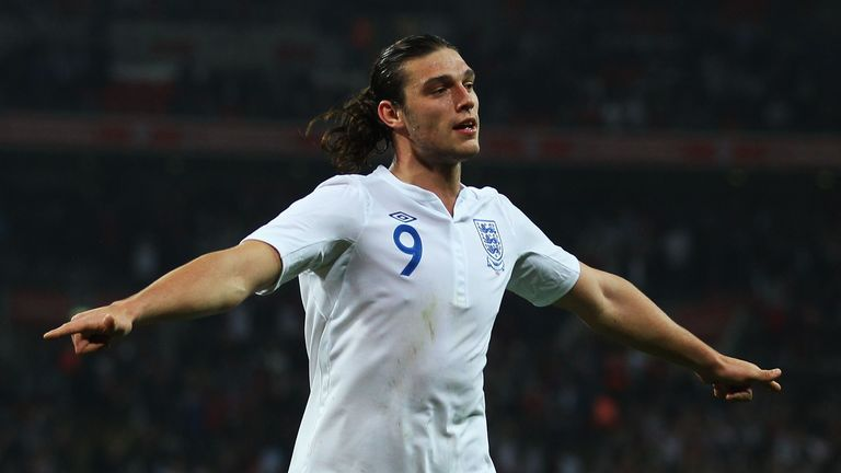 Carroll has scored twice in nine appearances for England