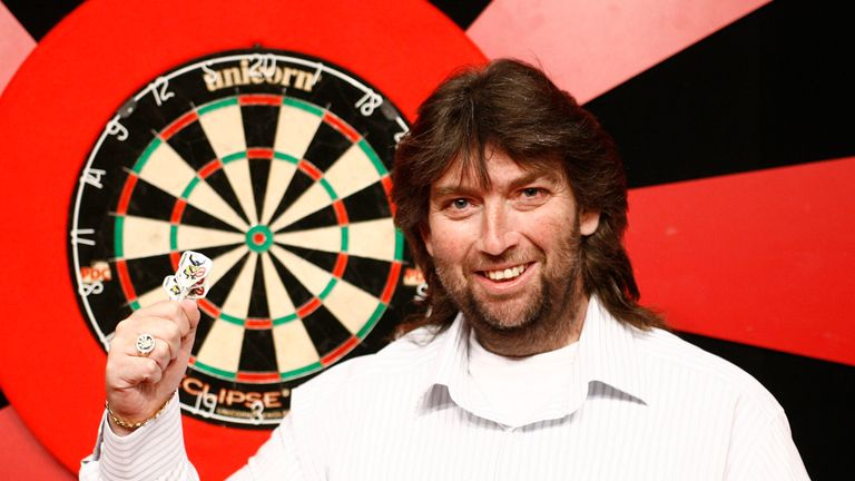 Andy Fordham has qualified for the Grand Slam of Darts - pic credit Lawrence Lustig/PDC