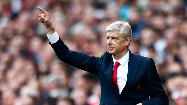 Arsene Wenger talked up his Arsenal side in the build-up to the game and was not let down