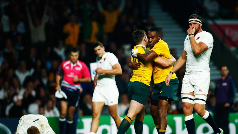 England faced a must-win game at Twickenham, but it was Australia who ended up celebrating