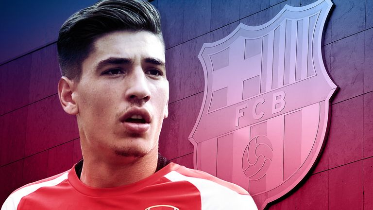 Hector Bellerin has become a key player for Arsenal since his full debut last year