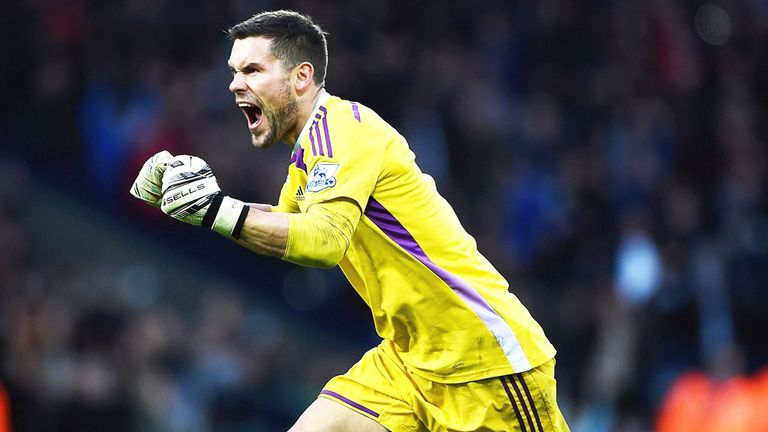 West Bron goalkeeper Ben Foster could be back in action next month