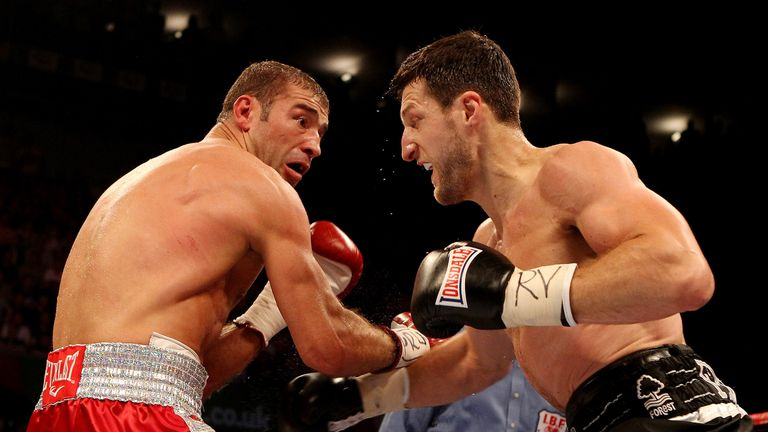 Froch stopped Bute in five thrilling rounds in Nottingham