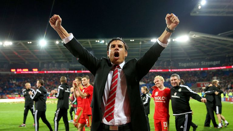 Coleman took Wales to the semi-finals of Euro 2016