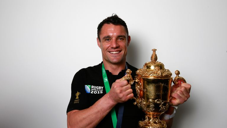 Carter has won two World Cups with New Zealand