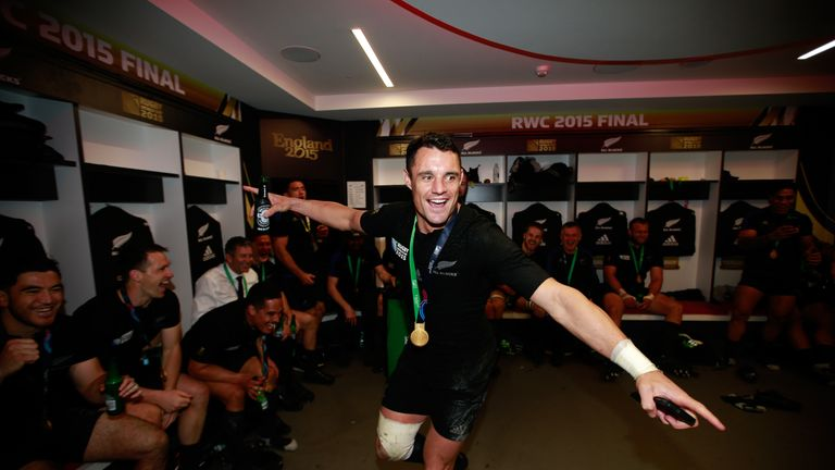 Carter will continue his career in France after helping the All Blacks to Twickenham glory