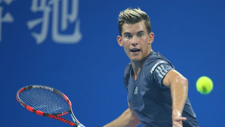Dominic Thiem will face Federer in the last four