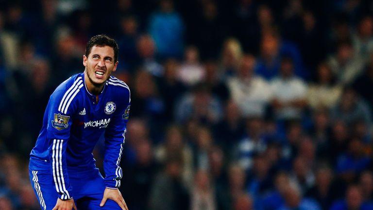 Eden Hazard started on the bench as Chelsea beat Aston Villa 2-0