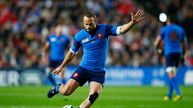 Freddie Michalak started at fly-half for France during the World Cup