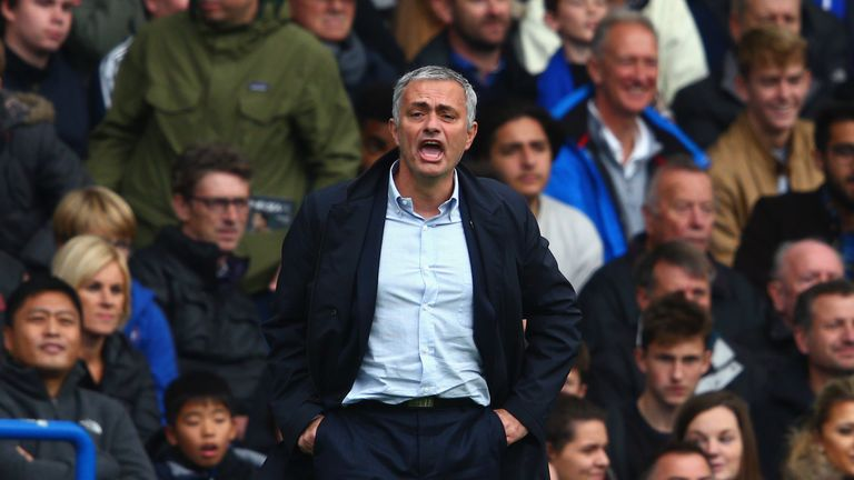 Jose Mourinho has come under increasing pressure in recent weeks
