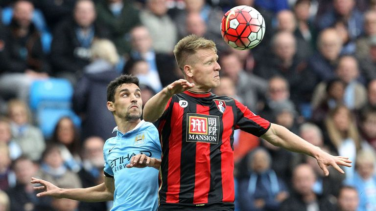 Bournemouth's Matt Ritchie has been linked to Manchester United