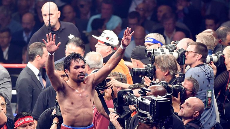 Is Manny Pacquiao set to to step aside for politics in six months?