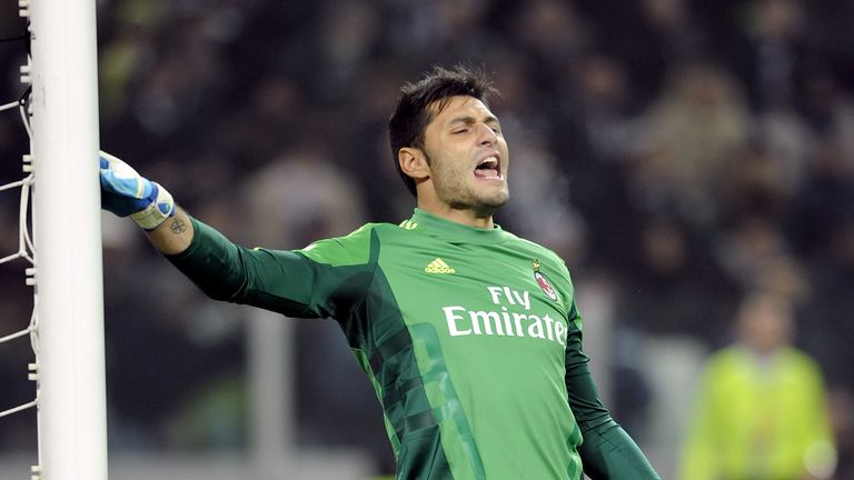 Chelsea have 'agreed' to sign former AC Milan goalkeeper Marco Amelia