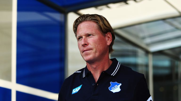 Markus Gisdol (pictured) was sacked as Hoffenheim manager earlier this week, while Huub Stevens has left due to heart problems