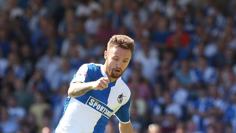 Matty Taylor is the second-highest scorer in League Two this season