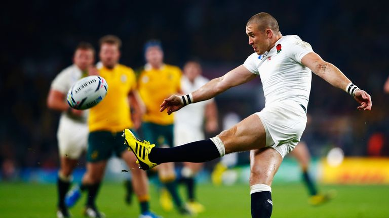 Mike Brown in action during England's World Cup exit to Australia in October