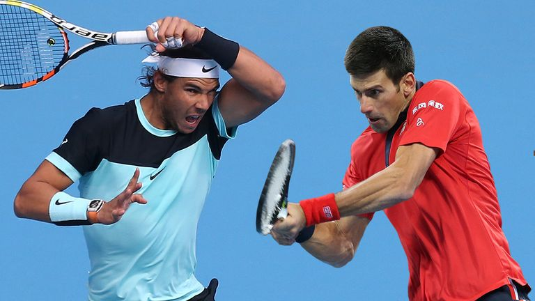 Rafael Nadal and Novak Djokovic will meet for a 53rd time on Sunday