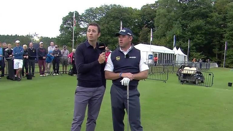 The first live Masterclass featured Lee Westwood giving tips on driving