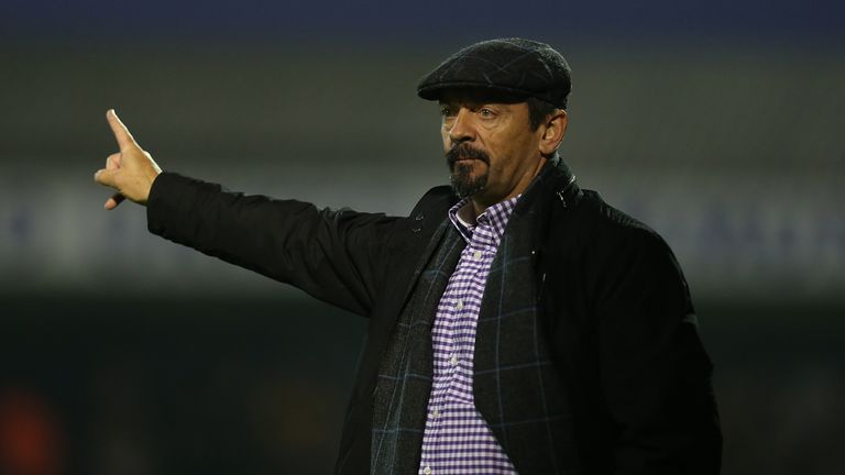 Southend manager Phil Brown condemned the trouble