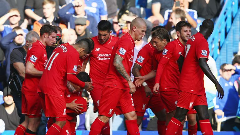 Liverpool beat Chelsea 3-1 at Stamford Bridge