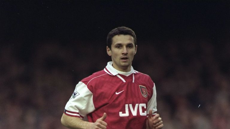 Remi Garde played for Arsenal, whom Aston Villa face on Super Sunday this weekend, between 1996 and 1999
