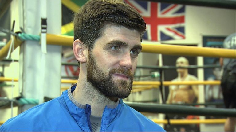 Rocky Fielding is hoping to cause an upset in Liverpool
