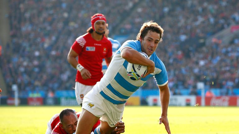 Nicolas Sanchez's 25 points proved crucial for Argentina.