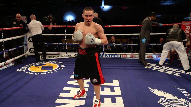 European bantamweight champion Ryan Farrag