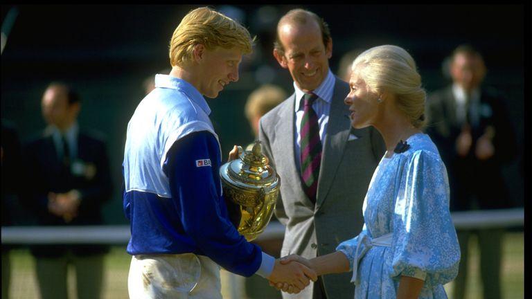 Boris Becker won Wimbledon at the age of 17 in 1985