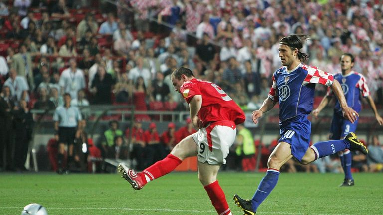 Rooney starred at Euro 2004 before suffering injury
