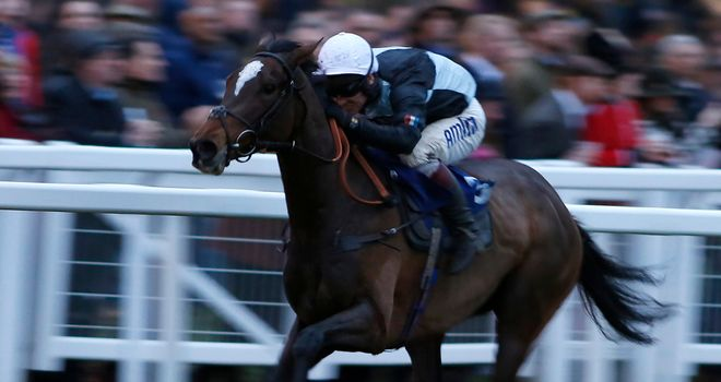 Copper Kay ran out an impressive winner of the bumper