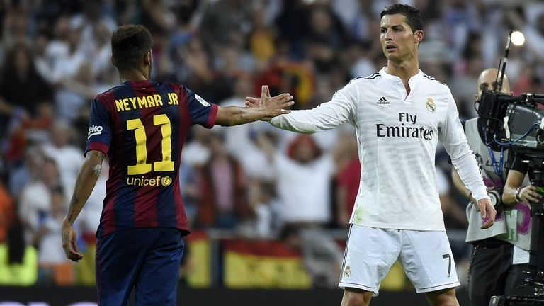 Barcelona and Real Madrid go head-to-head in El Clasico on Saturday afternoon