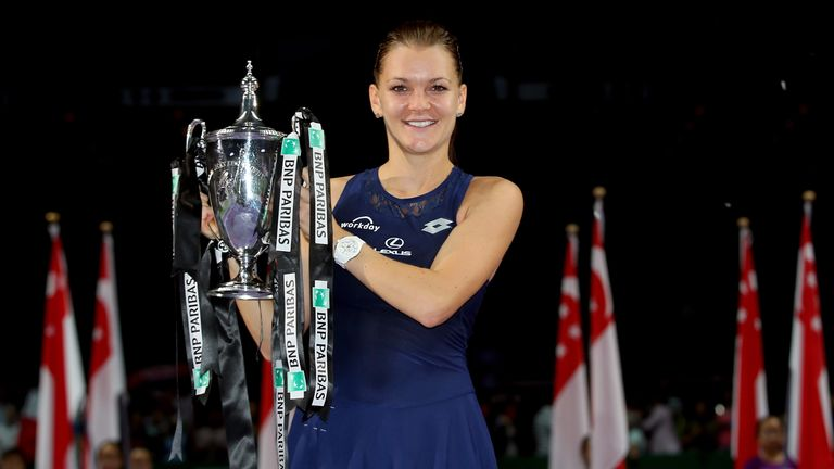 Image result for radwanska wta finals