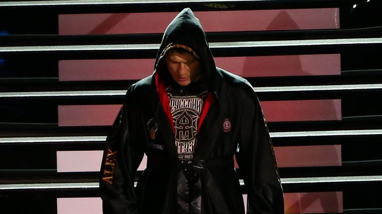 Alexander Povetkin has Deontay Wilder in his sights