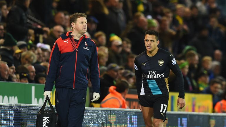 Alexis Sanchez leaves the pitch... but should he have been rested?