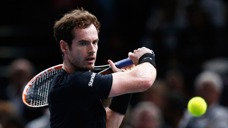 World number three Murray has been managing a back injury in recent weeks