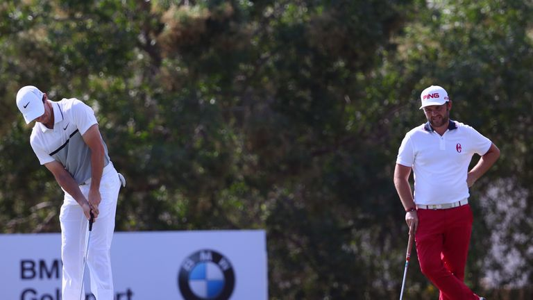 McIlroy finished one-shot clear of Sullivan