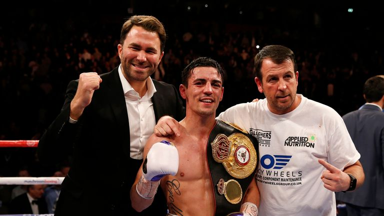 Crolla claimed the WBA belt with a stoppage win over Darleys Perez