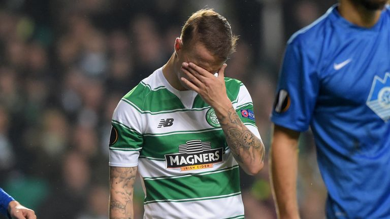 Leigh Griffiths saw two goals ruled out for offside