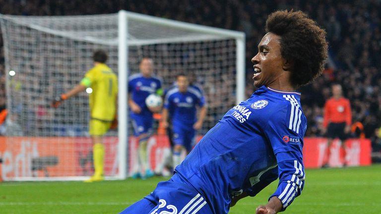 Willian scored a late winner as Chelsea beat Dynamo Kiev 2-1 last time out