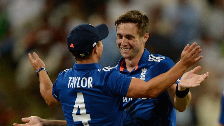 Chris Woakes took eight wickets at 19.87 in the ODI series