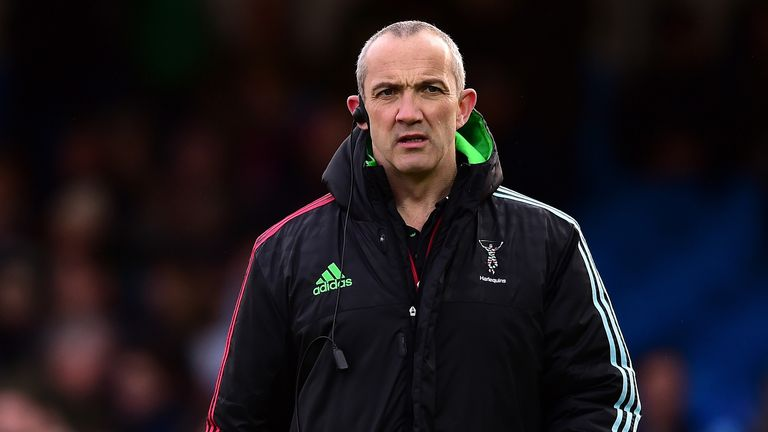 Conor O'Shea is to leave Quins at the end of the season